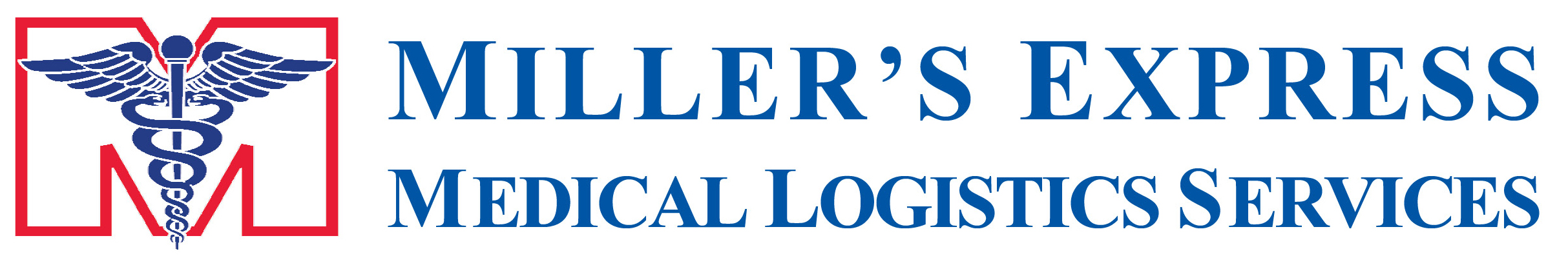Miller's Express Medical Logistics Services Logo